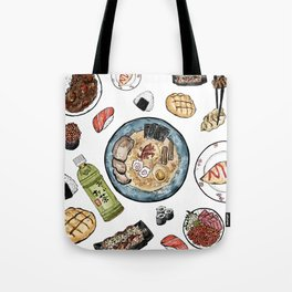 Favourite Japanese Foods Tote Bag