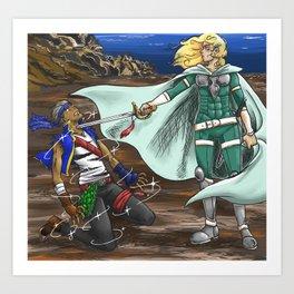 Power Breeds War Art Print