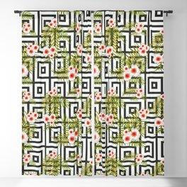 Geometric Jungle #society6 #decor #buyart Blackout Curtain