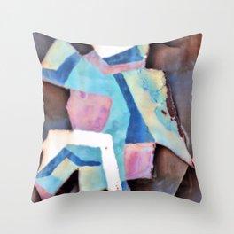 a little bit spanish Throw Pillow