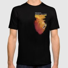 INDIANA - Heart On Fire Mens Fitted Tee Black MEDIUM