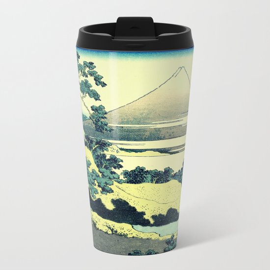 Crossing at Kina Metal Travel Mug
