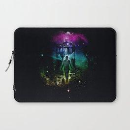time traveller v2 Laptop Sleeve