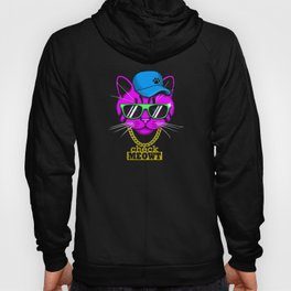 Check Meowt Bling Hoody