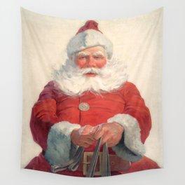 Classic Santa Claus Wall Tapestry