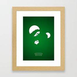B.. .....Y Framed Art Print