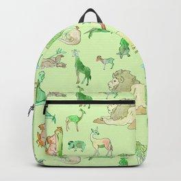 Watercolor Zoo Backpack