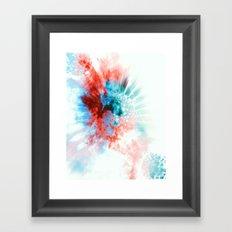 reryef Framed Art Print