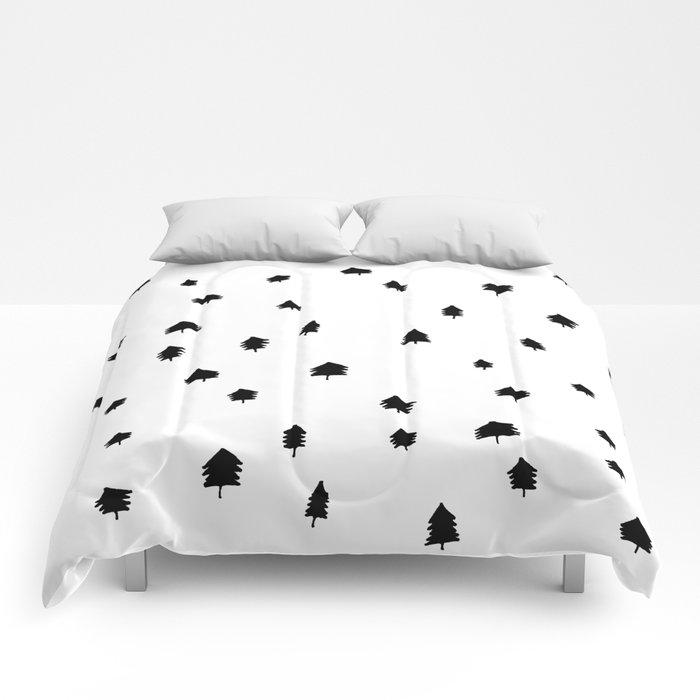 Pine Tree Print Comforters