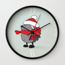 Is that Santa ?!? Wall Clock