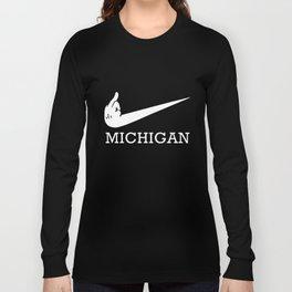 Michigan Logo Ohio State Football T-Shirts Long Sleeve T-shirt