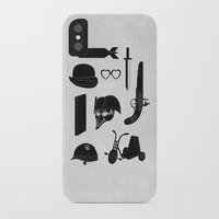 kubrick iPhone & iPod Cases featuring 2011: A Kubrick Odyssey by Florent Bodart / Speakerine