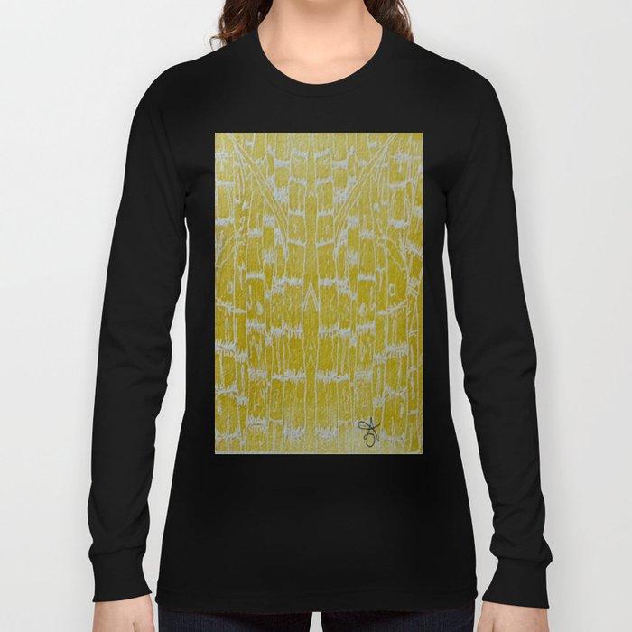 Yellow Sugarcane Long Sleeve T-shirt