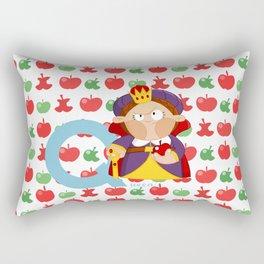 q for queen Rectangular Pillow