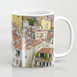 Life goes on in Constantinople - Istanbul cityscape photography Coffee Mug