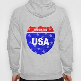 Interstate Made In The USA Sign Hoody