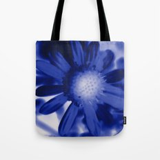 Petals Blue Tote Bag