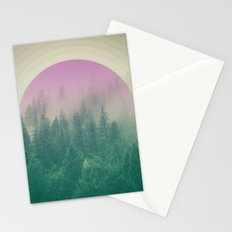 Orchid Vibes Forest Stationery Cards