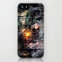 Sunset Forest : Where The Fairies Dwell iPhone Case