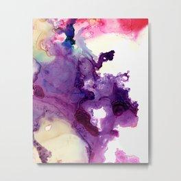 Purple composition Metal Print