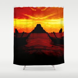 Warm and loving Thailand Shower Curtain