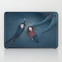constellations iPad Cases featuring Constellations by Ramona Treffers