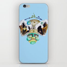 Meditate (blue sky) iPhone Skin