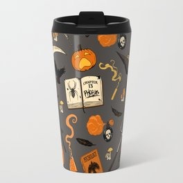 Scarecrow pattern Travel Mug