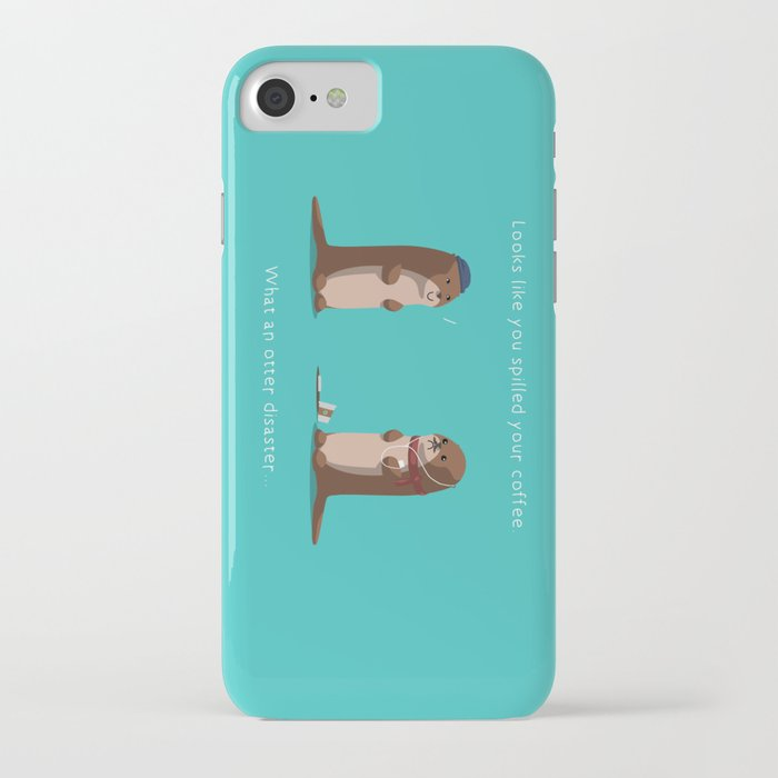 what an otter disaster iphone case
