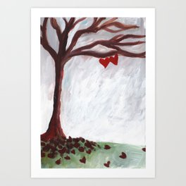 Our love withstands all seasons Art Print