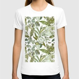 Wild botany in the jungle T-shirt