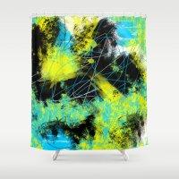 splash Shower Curtains featuring Splash by Timothy Davis