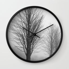 Forrest Haze Wall Clock