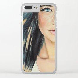 Amber Clear iPhone Case