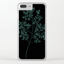 Silver dollar tree Clear iPhone Case