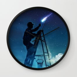Star Builder Wall Clock
