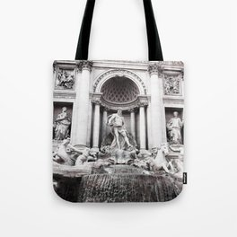 I wished for happiness - trevi fountain Tote Bag