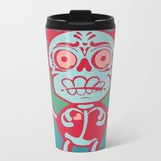 Panda Love Metal Travel Mug