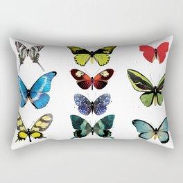 Une armée de papillons Rectangular Pillow