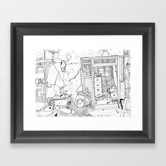 Lisa's forge Framed Art Print