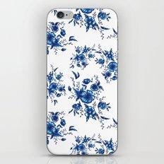 FOLK FLOWERS iPhone & iPod Skin
