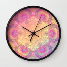 Psychedelic Kaleidoscope Wall Clock