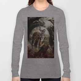 Saint Georgine and the Dragon Long Sleeve T-shirt