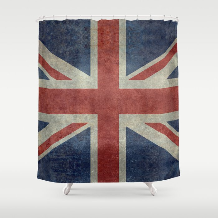 Union Jack Official 3:5 Scale Shower Curtain by brucestanfield