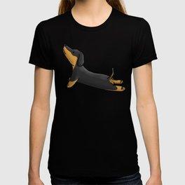 Dachshund Yoga T-shirt