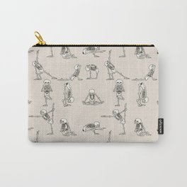 Skeleton Yoga Carry-All Pouch