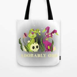 Adorably Odd Tote Bag