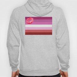 Lipstick Lesbian Flag Hoody