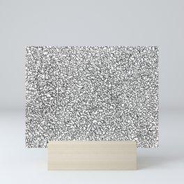 Scribbles Mini Art Print