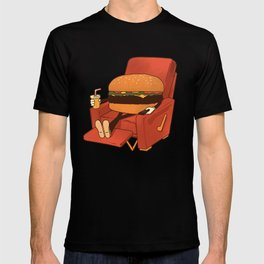 Lunch Break. T-shirt